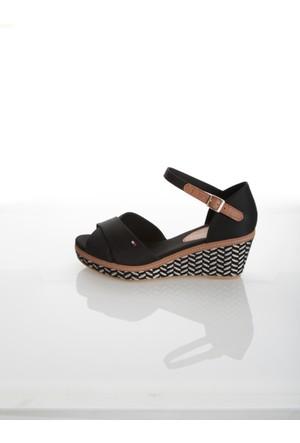 Tommy Hilfiger Kadın Sandalet Fw0Fw00372 990 E1285Lba 31D