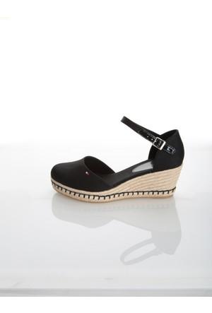 Tommy Hilfiger Kadın Sandalet Fw0Fw00407 990 Exclusive E1285Lba 32D