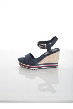 Tommy Hilfiger Kadın Sandalet Fw0Fw00696 404 V1285Eranice 1D