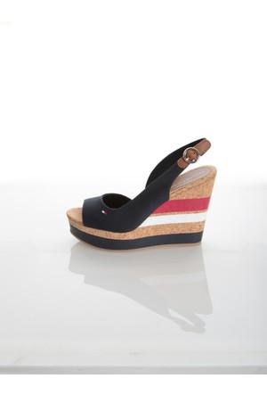 Tommy Hilfiger Kadın Sandalet Fw0Fw00858 403 int E1285Stelle 38C