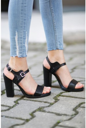 İnce Topuk Topuklu Ayakkabı 7YAZA0288004