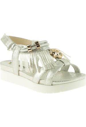 Vicco 928.Z.689 Kız Çocuk Gümüş Sandalet