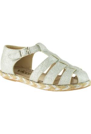 Vicco 928.Z.707 Kız Çocuk Gümüş Sandalet