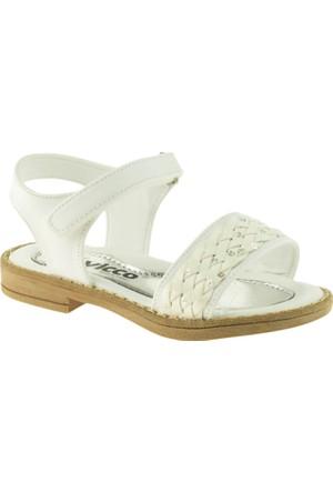 Vicco 321.Z.615 Çocuk Beyaz Sandalet
