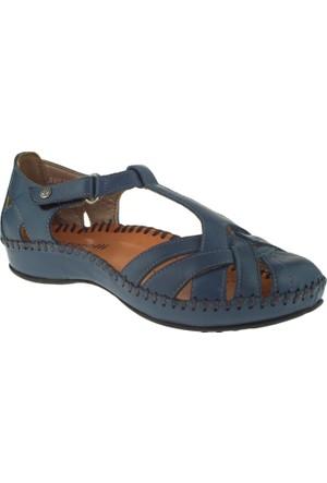 Forelli 9609 Comfort Lacivert Bayan Sandalet
