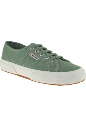 Superga 2750 Cotu Classic Yeşil Ayakkabı