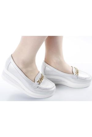 Veyis Usta Anne Model Bayan Ayakkabı Zincir 2829 283