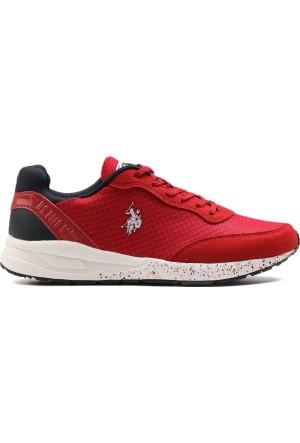 U.S. Polo Assn. Kırmızı Kadın Ayakkabı 100249240