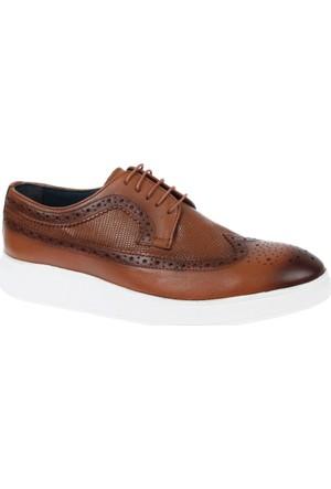 Shalin 1009 Taba Hakiki Deri Erkek Ayakkabı
