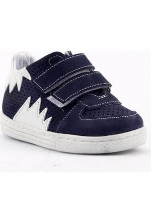 Teo Bebe 4400 Deri Ortopedik Cırtlı Erkek Çocuk Ayakkabı