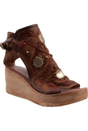 As 98 Castagna Tdm Argento 528023 101 0002 Sandali Donna Pelle Suola Sintetica Air Step Sandalet