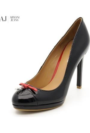 Armani Vernice Barbados V55492312 12 Nero - Black Armani Ayakkabı