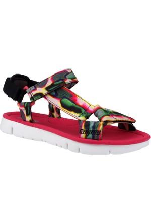 Camper Colore K200356-002 Camper Web.Neg Extasy Print Orugasand Blanco Sandalet