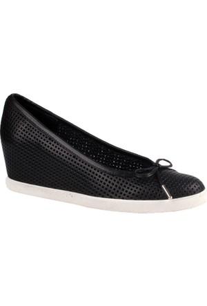 John May Black White Po- 280-38 V1 Ladies Footwear John May Ayakkabı