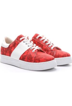Limited Edition Bayan Ayakkabı Kırmızı
