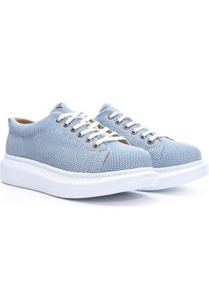 Limited Edition Bayan Baloon Taban Ayakkabı Mavi