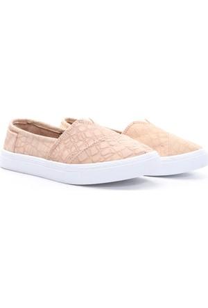 Limited Edition Bayan Hakiki Deri Ayakkabı Bej