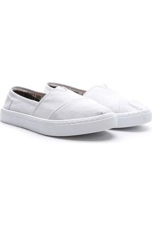 Limited Edition Bayan Hakiki Deri Ayakkabı Beyaz