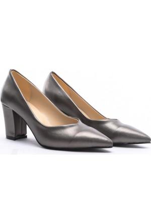Limited Edition Bayan Stiletto Ayakkabı Gri
