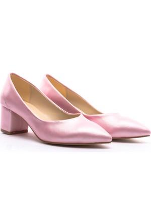 Limited Edition Bayan Stiletto Ayakkabı Pudra