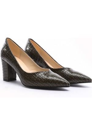 Limited Edition Bayan Stiletto Ayakkabı Yeşil