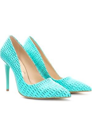 Shoes&Moda Bayan Stiletto Ayakkabı Mint