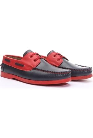 Shoes&Moda Erkek Deri Ayakkabı Lacivert
