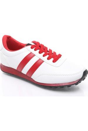 Trione Bayan Spor Ayakkabı Beyaz