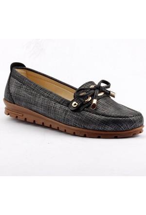 Wanetti 2705-2 Günlük Rahat Taban Babet Bayan Ayakkabı