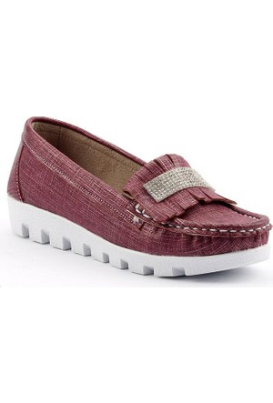 Sema 49 Günlük Abiye Kız Çocuk Babet Ayakkabı