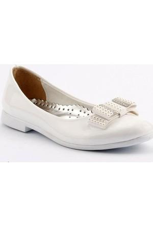 Sema 25 Günlük Abiye Tokalı Kız Çocuk Babet Ayakkabı