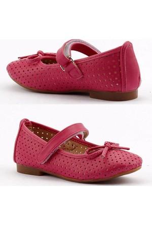 Pekçok Günlük Cırtlı Ortapedik Kız Çocuğu Babet Ayakkabı