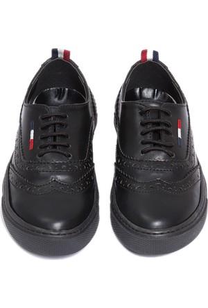 U.S. Polo Assn. Erkek Çocuk K6Forte Ayakkabı Siyah