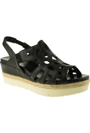 Venüs 079-3035 Siyah Kadın Sandalet