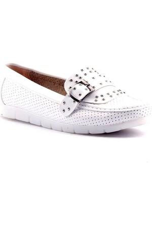 Caprito Y-3506 Günlük Ortopedik Kadın Babet Ayakkabı