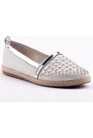 Caprito Y-6956 Günlük Ortopedik Burun Taşlı Kadın Babet Ayakkabı