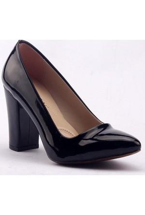 Paddy 2835 Kalın Topuk Bayan Rugan Ayakkabı
