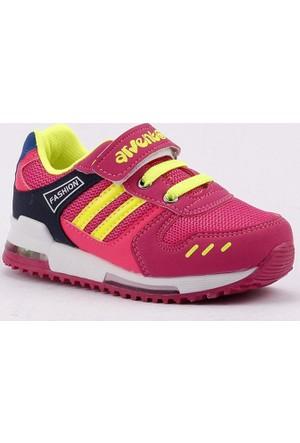 Arvento 865 Fileli Işıklı Kız Çocuk Spor Ayakkabı
