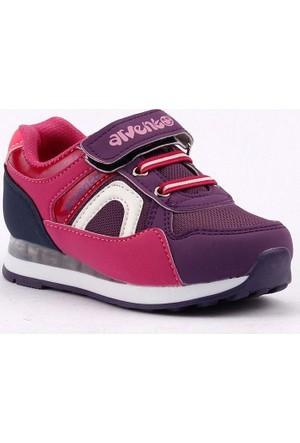 Arvento 870 Fileli Işıklı Kız Çocuk Spor Ayakkabı