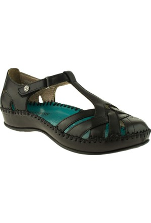 Forelli 9609 Comfort Siyah Bayan Sandalet