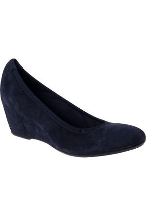 Frau Taupe 71 A5 Camoscio Kadın Ayakkabı Mavi