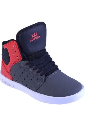 Supra Atom Kids S91013K Erkek Ayakkabı Lıght Grey Red