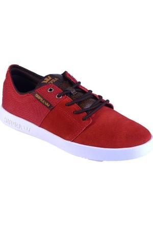 Supra Stacks ii S45143 Erkek Ayakkabı Red Lızard Whıte