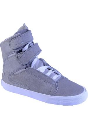 Supra Women-Society ii Sw34120 Kadın Ayakkabı Whıte / Metallıc - Whıte