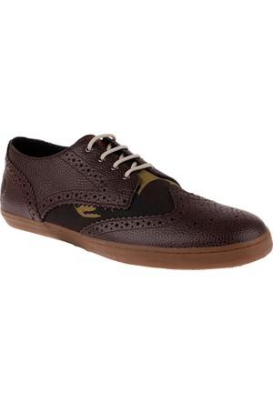 Fred Perry 153 Ealing Scotch Grain Leather / British Millerain-B7429 B7429 Erkek Ayakkabı Chocolate