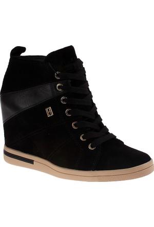 Tommy Hilfiger Fw56819716 Kadın Ayakkabı Siyah