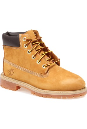 Timberland 6 in Classic Boot Ftc 12709 Çocuk Bot Wheat Nubuck