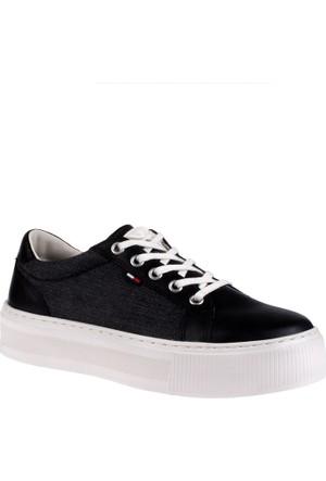 Tommy Hilfiger Kadın Ayakkabı Fw0Fw01030 990 Exclusive D1385Olly 1C1