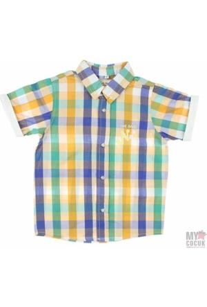 Modakids Nanica Erkek Çocuk Ekose Kısa Kol Gömlek (1 - 3 Yaş) 0014962027