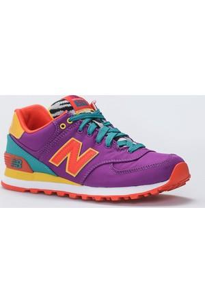 New Balance WL574 Pop Safari Mor Kadın Günlük Ayakkabı